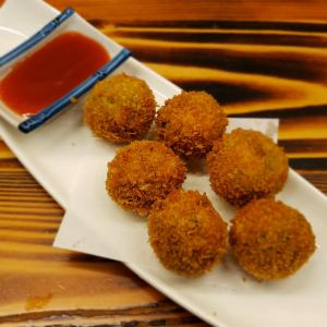 Appetizer 6.crispy fried vegetable balls